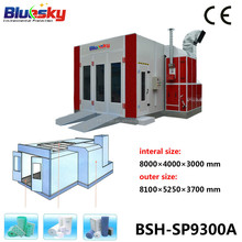 BSH-SP9300A CE paint booths used/removable car spray paint/spray booth machines