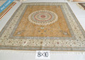 hecho a mano de seda de cachemira alfombras alfombras