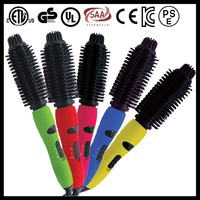 Electric Hair Brush With Cool Tip also can be used as curling