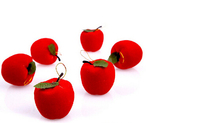 wholesale small red apple for christmas tree decoration pendant