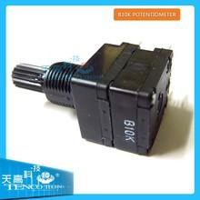 6mm Split Shaft Top Adjustment Rotary Linear Potentiometers B10K