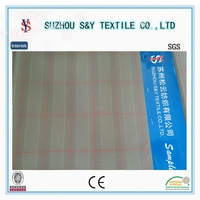 P.75D yarn dyed fake memory fabric with waterproof & wicking finish