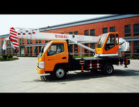 2015 year new and small type machine, 7 ton truck crane with KAMA or Tking special vehicle chassis