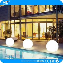 rgb led ball/led glow swimming pool ball/led beach ball, waterproof IP65 or higher