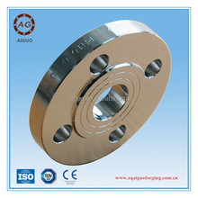 A105n forged ANSI standard 6 inch round carbon steel pipe flange on ship