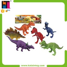 2015 Top Sell Plastic Funny Animal Zoo Play Set Dinosaur Games