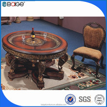 D-0092 rectangular marble table dining furniture wheels dining table