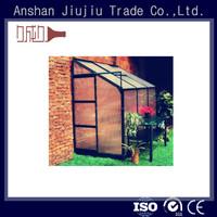 customize aluminum anodized profile of greenhouse