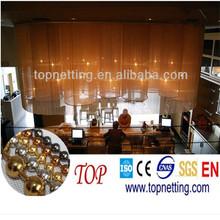 metallic shiny curtain/ball chain/Metal bead curtain