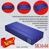 New goip voip gateway SK GSM16-64,free registration,16 channels 64 sim cards gsm gateway.