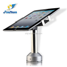 12-21cm adjustable gripper rotating display stand with lock and recoiler pullbox for cell phone retail security