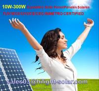 paneles solares panel solar modulos solares 240w, 245w, 250w, 255w, 260w with TUV