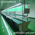 completo y semi automático de luz led de línea de montaje de equipos