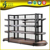 Cheap supermarket shelf, grocery store display shelf,gondola beverage shelving