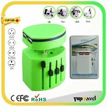 Travel plug adapter walmart with two usb