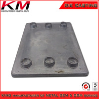 Alibaba china Cheapest a380 alloy aluminum die casting shell