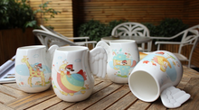Custom Stoneware Angel Wings Coffee Cup Mugs