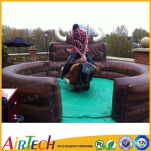 funny mechanical bull rodeo, inflatable mechanical game