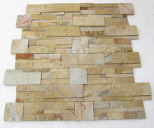 super good natural wall decorate culture rows slate stone