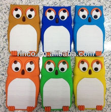 3D Cute Owl Soft Back Phone Case Cover Skin for Blackberry Curve 9220 9320