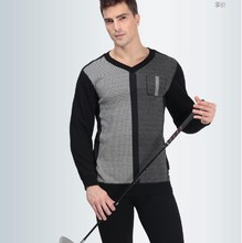 Merino Wool Heated Thermal Underwear Double Layer Fashion Warm Military Thermal Underwear Factory In China