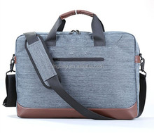 Men Leather Shoulder Bussiness Messenger bag for Laptop