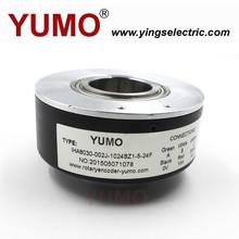 YUMO IHA8030 1024 pulse 15pin hollow shaft rotary encoder car key encoder
