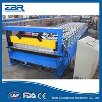 Popular Corrugated Aluminium Metal Profile Roof Tile Roll Forming Machine