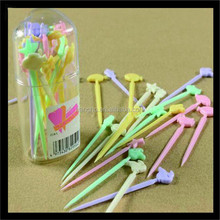 high quality decoration small plastic fork