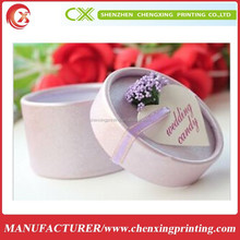Beautiful Luxury Packaging box Jewelry Round Boxes Ring Necklace Party Gift Box