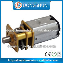 DS-12SSN20 12v dc motor with gear reduction for rotary ad machine