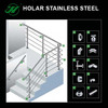 alibaba manufacturer stainless steel handrail fitting
