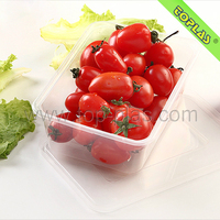 Easy Open Plastic Container Fruit Box Food Containers