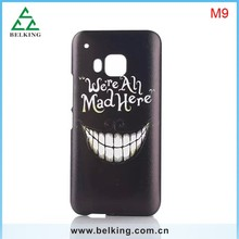 Hand Painted PC New Colorful Case For HTC M9, For HTC M9 Plastic Hard Cases, For HTC M9 Back Mobile PC Case