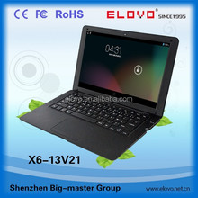 profession factory 13.3inch Android netbook computer dual core ViA WM88880 netbook computer hot sale around South America