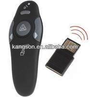 wireless usb word powerpoint laser presenter, 1pc AAA