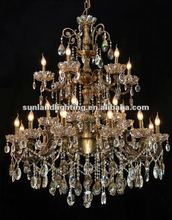 2012 crystal chandelier, pendant light/lamp SL7016-12+6+6