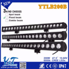 Y&T Small Size light bar, 200w off road led light bar, auto parts accessories single row bar lights