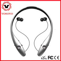 fashion trend China made behind the neck headphones with noise cancelling handsfree with high quality for special gift