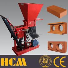 NEW machine ECO BRAVA 1-25 manual bolck maker production of bricks blocks in Middle East