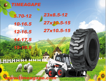 Skid steer tires with 10-16.5 good traction wheel cutting resistance