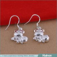 yiwu factory 925 sterling silver value drop earring