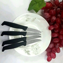 Small Black Matte Finish Stainless Steel Butter Knife