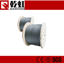 diameter 6mm top quality 6*19 stainless steel wire rope
