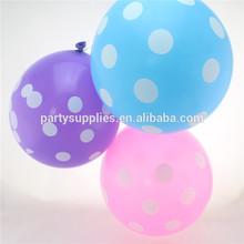 impreso de calidad polka dot globos para la fiesta de cumpleaños de la boda baby shower