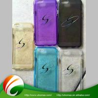 custom color shockproof tup case for iphone