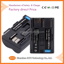 Hot Sellling BP511 BP511A Camera Battery Batteries for Canon 300D 10D 20D 30D 40D 50D 5D