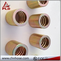 Flexible hose camlock quick connect couplings
