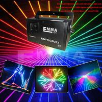 ILDA+SD+2D+3D Mutil-Functional 1.2W RGB laser show