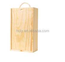 Single bottle wine box wooden presentation box